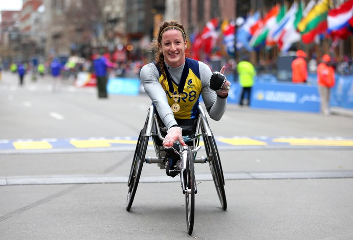 Tatyana Mcfadden atletismo paralimpíadas (Foto: Getty Images)