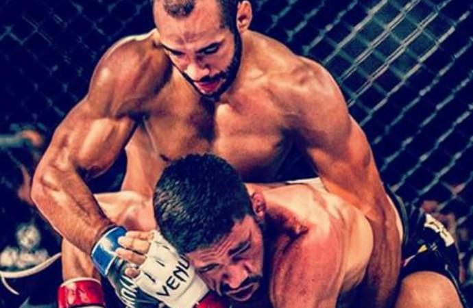 Vinicius Bohrer Piumhi Fight Night 2 (Foto: Vinicius Bohrer/Arquivo Pessoal)