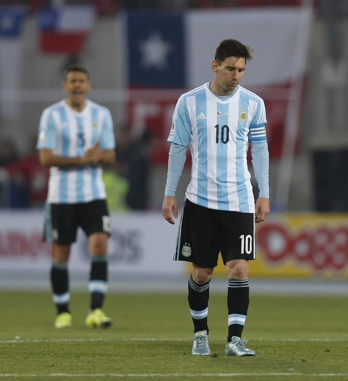 Messi e Biglia, Copa América (Foto: Agência AP)