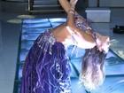 Nuelle Alves faz dança do ventre em festa de aniversário