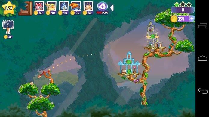 Novos personagens e novos poderes em Angry Birds Stella (Foto: Reprodução / Dario Coutinho)