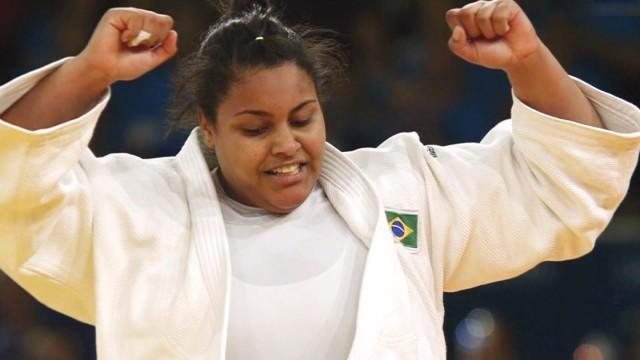 Judoca Maria Suelen Altheman (Foto: Reprodução/TV Tribuna)
