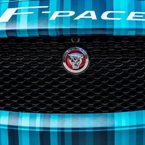 Detalhe do Jaguar F-Pace (Foto: Divulgação)