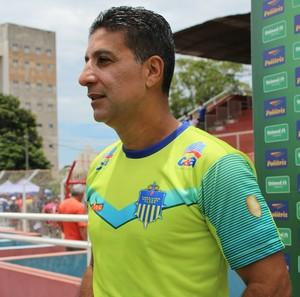 Wisner Dantas técnico Tabajara Campeonato Amador (Foto: Caroline Aleixo)