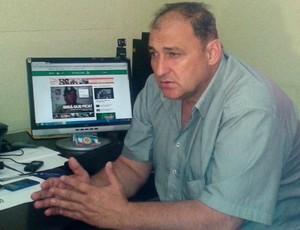 Vice-presidente do Vilhena, Carlos Dalanhol (Foto: Lauane Sena)