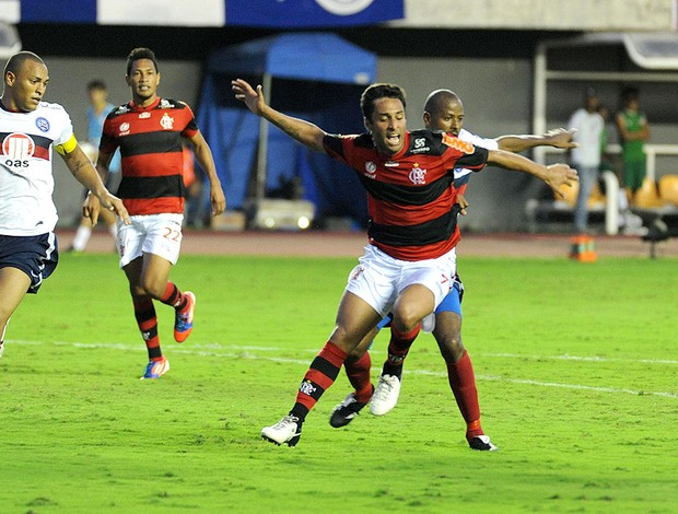 Ibson, Gol Bahia x Flamengo (Foto: Alexandre Vidal / Fla Imagem)