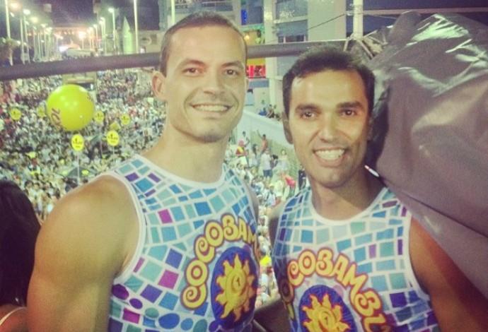 mario junior riad volei carnaval salvador (Foto: Reprodução/Instagram)