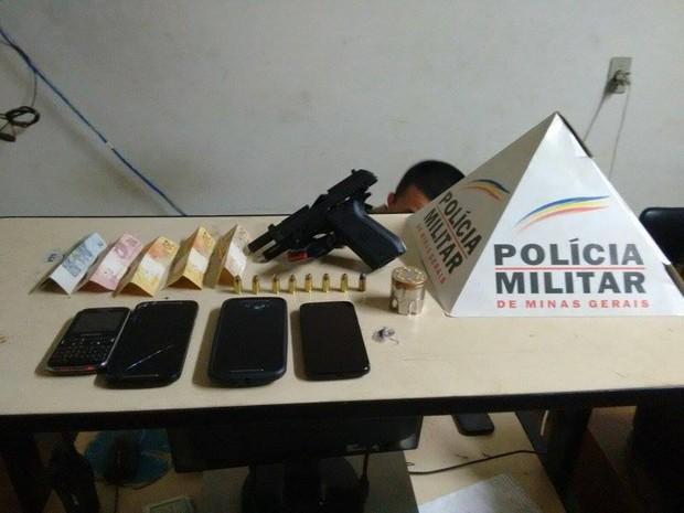 Crime Patrocínio (Foto: PM/Divulgação)