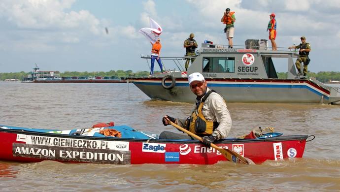 Polonês Marcin Gienieczko (Foto: Anderson Silva/Agência Pará)