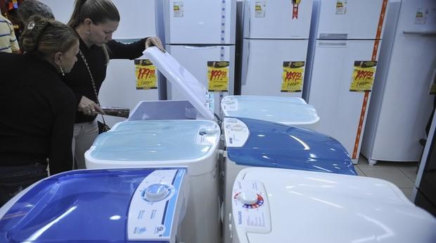 Eletrodomésticos da linha branca (Foto: Agência Brasil)