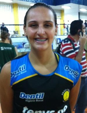 Isabela Paquiardi, ponteira, vôlei, Praia Clube (Foto: Gullit Pacielle)