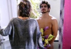 Maria Casadevall e Caio Castro (Foto: Divulgação/TV Globo)