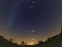 'Fila' de planetas será visível a olho nu; entenda (Cassio Barbosa/Stellarium)
