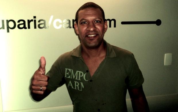 Djalminha veio ao SporTV News (Foto: Daniel Cardoso (sportv.com))