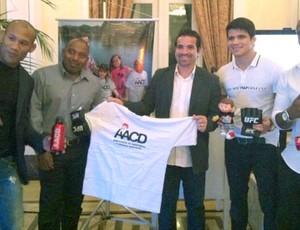 Ronaldo Jacaré e Erick Silva MMA leilão AACD (Foto  Reprodução   Instagram) c48616951bbee