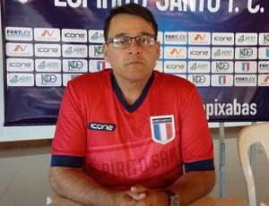 Leandro Niehues, novo técnico do Espírito Santo (Foto: Richard Pinheiro/GloboEsporte.com)