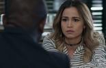 Sergio avisa a Sandra Helena que ela terá que depor pela herança de Marieta