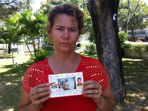 Maria Aurineide  (Foto: Thiago Conrado/ G1)