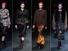 Givenchy surpreende com coleção feminina e cheia de estampas na Semana de Moda de Paris
