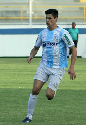 Filipe Machado zagueiro do Macaé (Foto: Tiago Ferreira/Macaé Esporte)