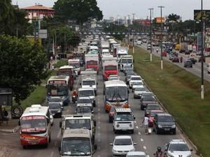 Frota de automóveis no estado deve ultrapassar 1 milhão nos próximos nove anos. (Foto: Cristino Martins/Ag. Pará )