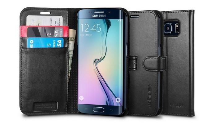 Capa para Galaxy S6 Edge Spigen Wallet S (Foto: Divulgação/MonkeyBiz)