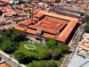 Vista aérea da Prefeitura de Limeira (Foto: Wagner Morente/Divulgação Prefeitura Limeira)
