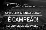 """Arena corintiana provoca palmeirense após título: """"Primeira a gritar campeão"""" (Reprodução/Twitter)"""