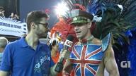 Rei de bateria reforçou a malhação para desfilar no carnaval 2016