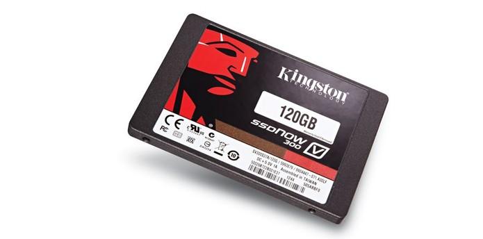 SSD V300 de 120 Gb da Kingston  (Foto: Divulgação/Kingston)