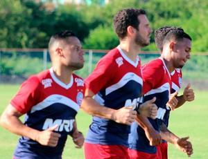 treino do Bahia; Lucas Fonseca; João Paulo Gomes (Foto: Divulgação/EC Bahia)