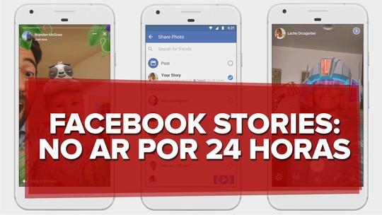 Facebook ganha post de imagens que somem em 24 horas, câmera com novos efeitos e muda app; veja