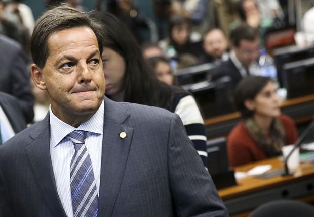 Sergio Zveiter, relator de parecer de denúncia contra Temer (Foto: Marcelo Camargo/Agência Brasil)