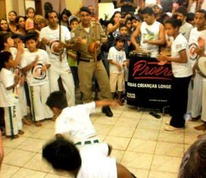 Projeto União e Ginga José Elias Ribeiro Filho Abaeté Capoeira - 02 (Foto: José Elias/Arquivo Pessoal)