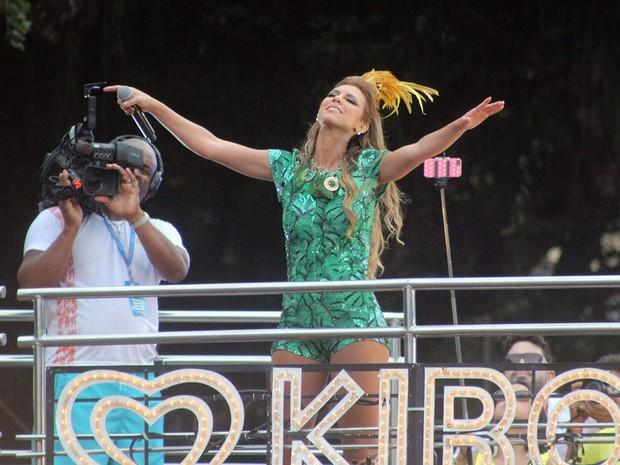 Vina Calmon, vocalista da banda Cheiro de Amor (Foto: Marcos Costa/Ag. Haack/Agecom)