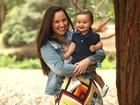'Laura é um milagre, uma graça divina', diz Mariana Belém sobre filha