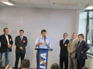 Haddad anuncia cinco secretários nesta sexta-feira (14) (Foto: Roney Domingos/G1)