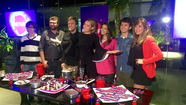 Mistura com Rodaika tem festa de lançamento (Foto: Gabriela Haas/RBS TV)