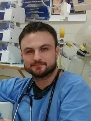Eduardo de Campos trabalha desde fevereiro de 2015 no PS do Husm (Foto: Reprodução/Facebook)