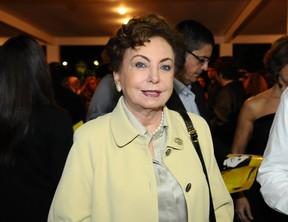 Beatriz Segall em show de Maria Bethânia em São Paulo (Foto: Francisco Cepeda/ Ag.News)