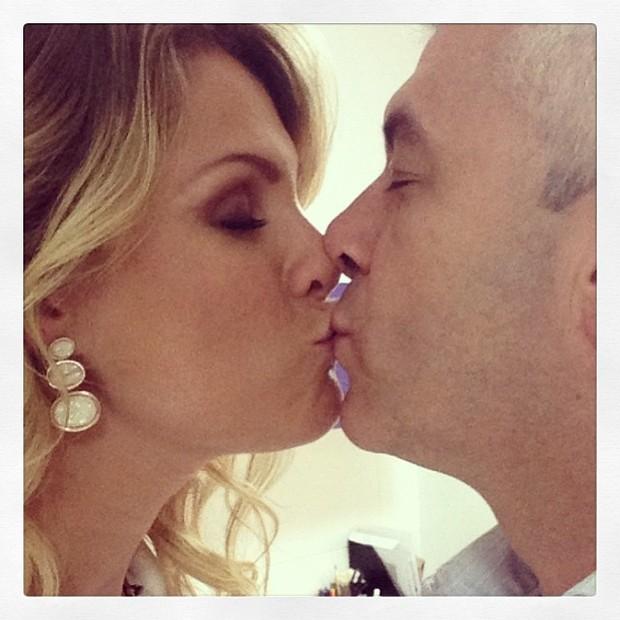 Ana Hickmann e o marido (Foto: Instagram / Reprodução)