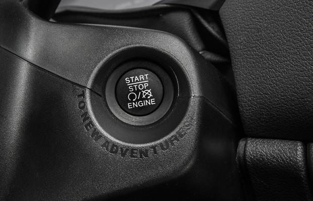 Jeep Renegade é um dos carro que possuem botão de partida (Foto: Divulgação)