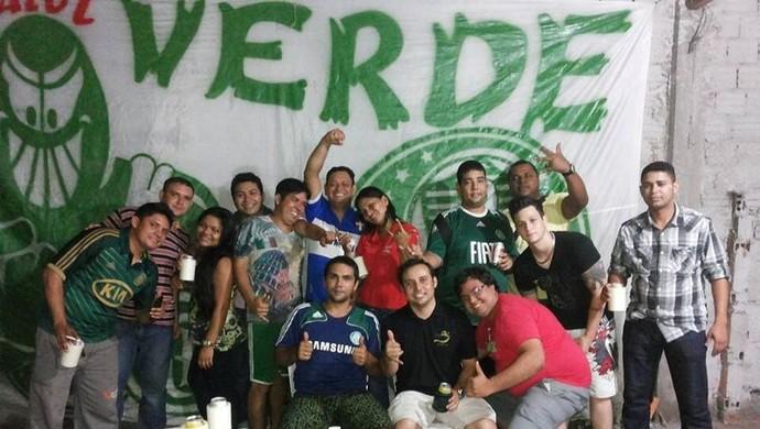 'Amapá Mancha Verde' comemora semana do centenário do Palmeiras (Foto: Reprodução/Arquivo Pessoal)