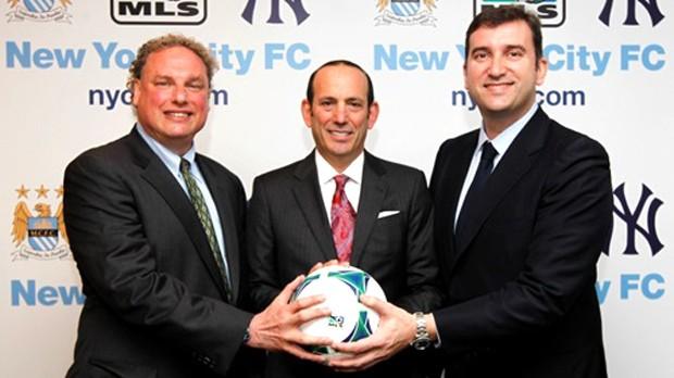 Manchester City acordo Yankees  (Foto: Divulgação / Site oficial do Manchester City)