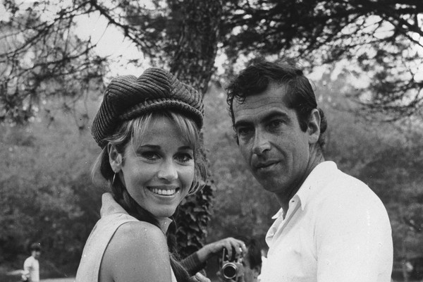 Jane Fonda e Roger Vadim (Foto: Getty Images)