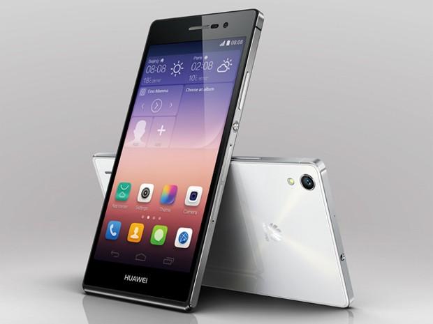 Ascend P7 ganhará edição especial com tela de safira (Foto: Divulgação/Huawei)