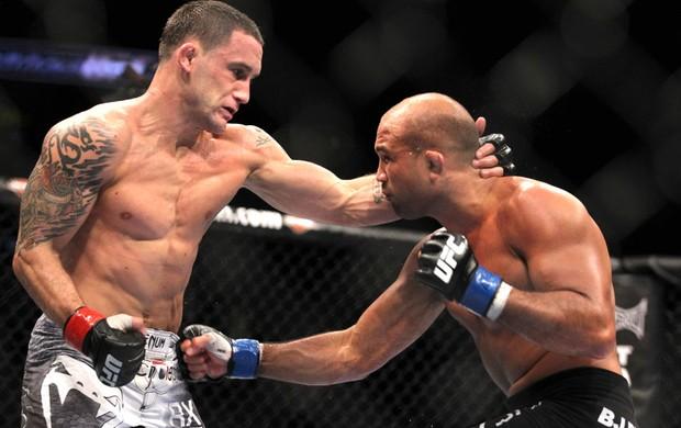 BJ Penn e Frankie Edgar UFC 2010 (Foto: Getty Images)