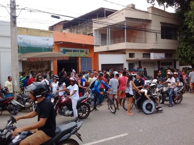 Mototaxista de 39 anos foi morto no local de trabalho em Governador Valadares (Foto: George Gonçalves/Arquivo Pessoal)