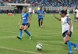 Marta, Seleção Feminina, Arena Pantanal, 2015 (Foto: Olímpio Vasconcelos)