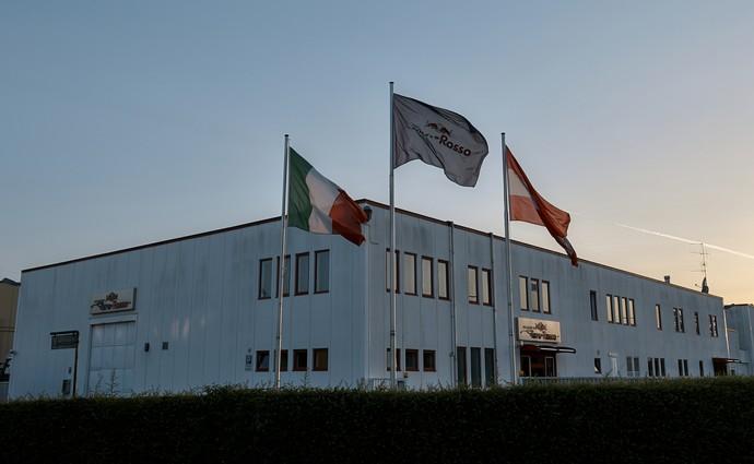Sede da STR em Faenza, na Itália (Foto: Divulgação)